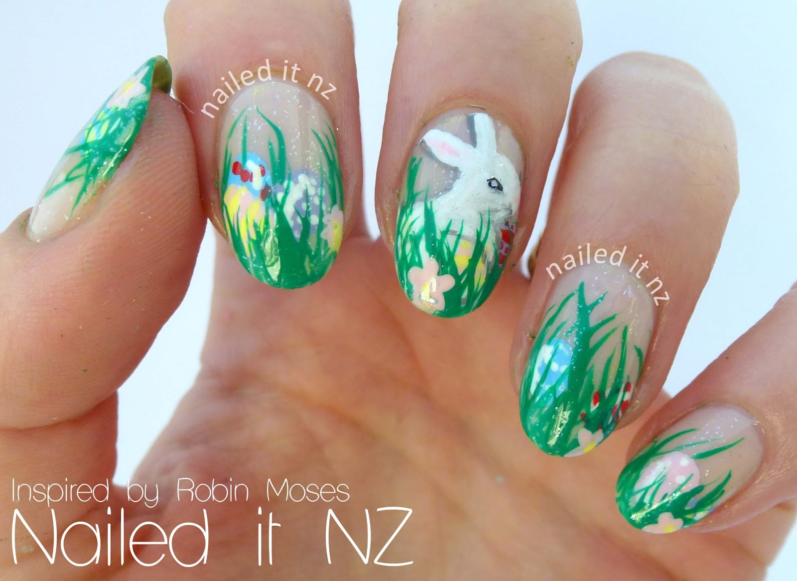 Easter nail art inspired by robin moses nailed it nz prinsesfo Image collections