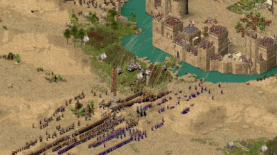Stronghold Crusader HD Gameplay PC