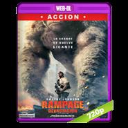 Rampage: Devastación (2018) WEB-DL 720p Audio Dual Latino-Ingles