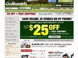Golfsmith coupon codes