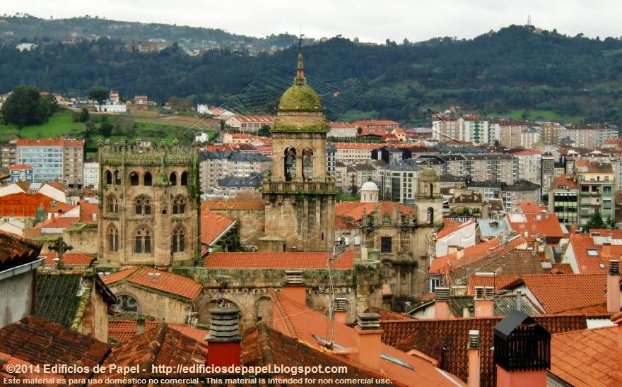 Vistas de Ourense desde San Francisco