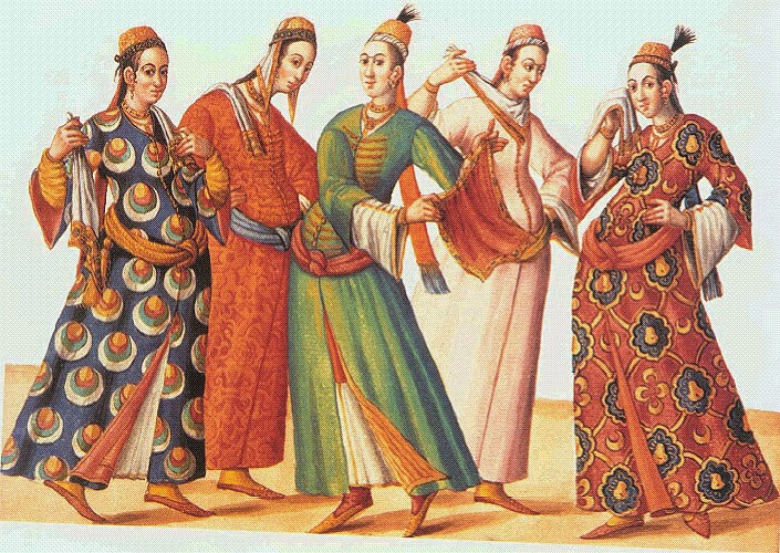 Safavid Women S Fashion
