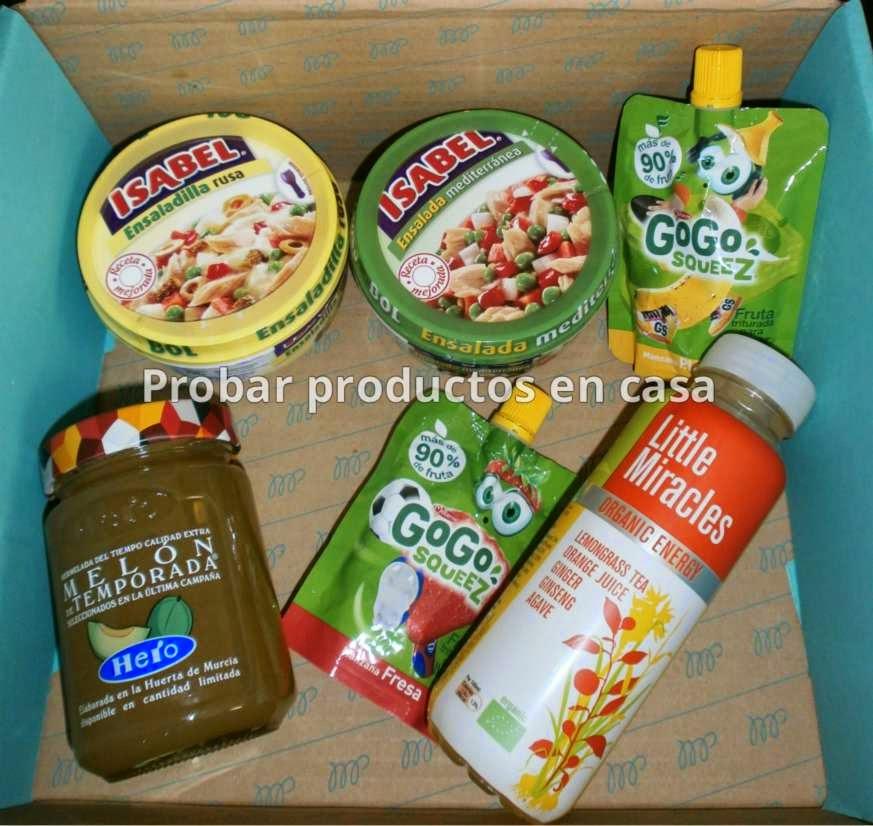 Muestras Premium: Mermelada de melón, ensaladas isabel, Gogo