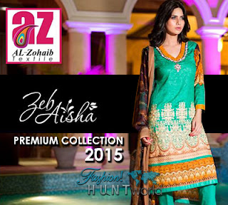 ZebAisha Premium Collection 2015 By Al-Zohaib
