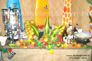 como decorar sua festa havaina