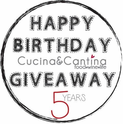 Giveaway Cucina&Cantina