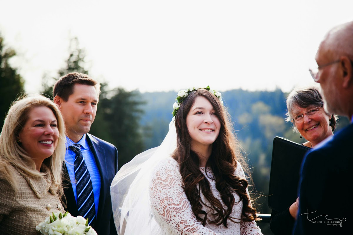 Words of wisdom from bride and groom's parents during their ceremony - Patricia Stimac, Seattle Wedding Officiant