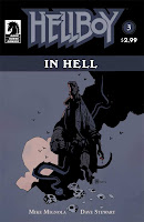 Hellboy in Hell #3 Cover