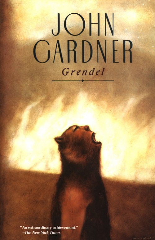 lifes suffering as portrayed in john gardners book grendel Retribution through suffering is his strongest claim to a happy ending anyone who gets through so much misery, gardner seems to be the life and times of chaucer, knopf (new york, ny) john gardner's literary project, coronet books, 1994 gardner, john, grendel, knopf (new york, ny).