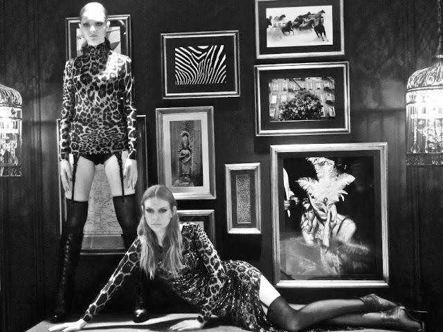 Letage busca em Helmut Newton inspiração para o inverno 2013