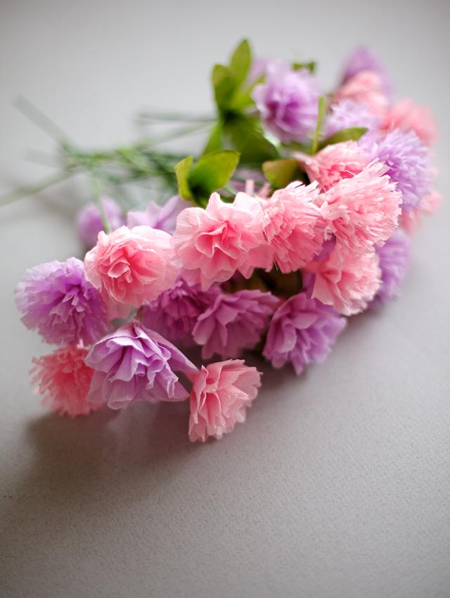 Diy Crepe Paper Carnations
