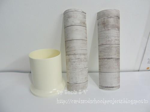 plastic decoupage