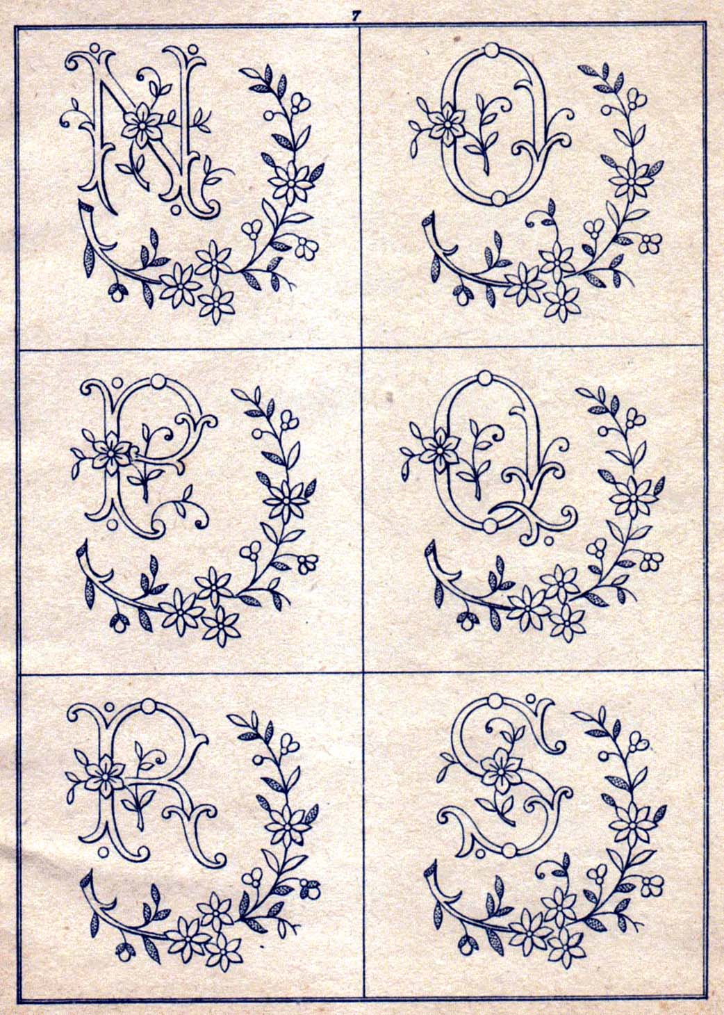 Images about embroidery monograms on pinterest