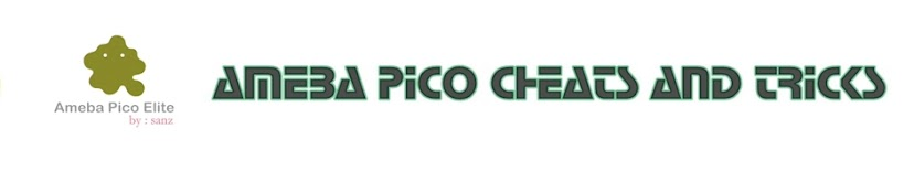 TRICK AND CHEAT AMEBA PICO