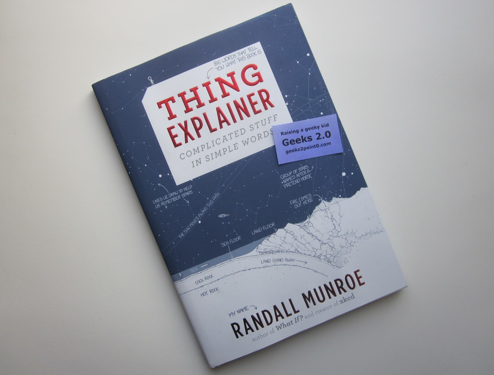 Geeks 20 thing explainer big ideas in small words going along with the fantastically simple explanations thing explainer a sample here also contains wonderful blueprint style drawings and diagrams for malvernweather Choice Image