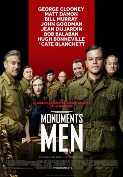 The Monuments Men (2014) latino, subtitulada