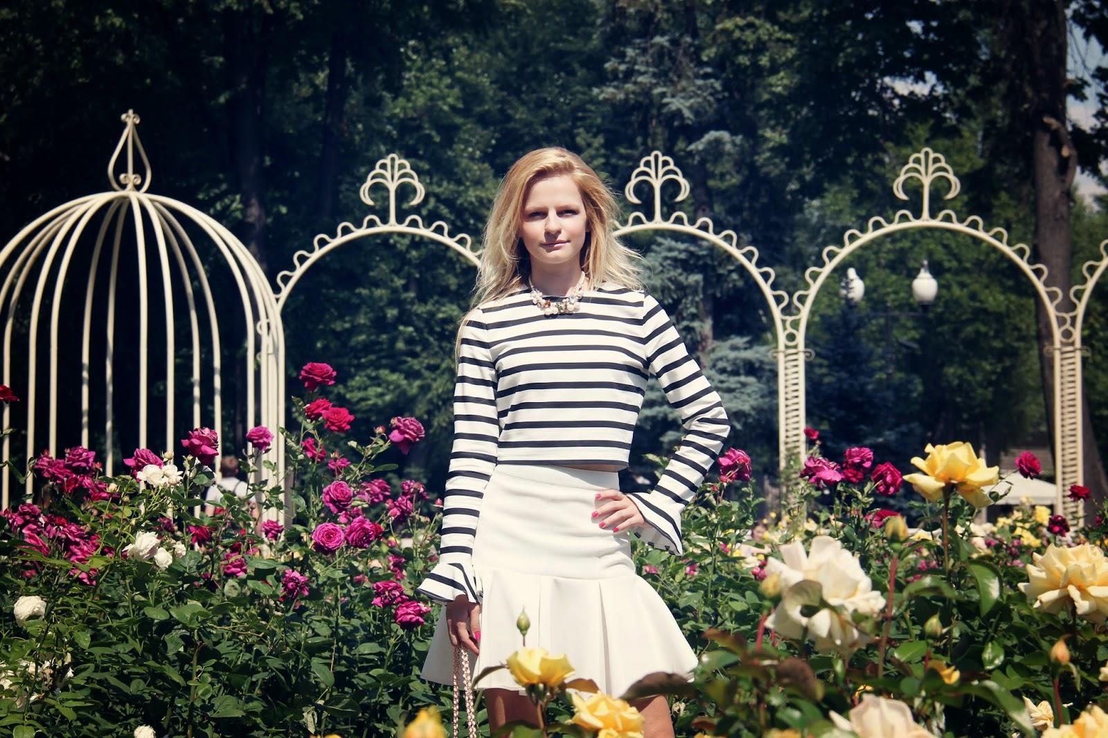 Ирина Павлова блогер, как носить топ, летние луки, модные тенденции,модные блоггеры