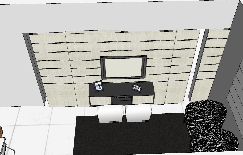 Sala De Jantar Em Campo Grande Ms ~ Portas de correr embutidas com saídas para cozinha e lavabo