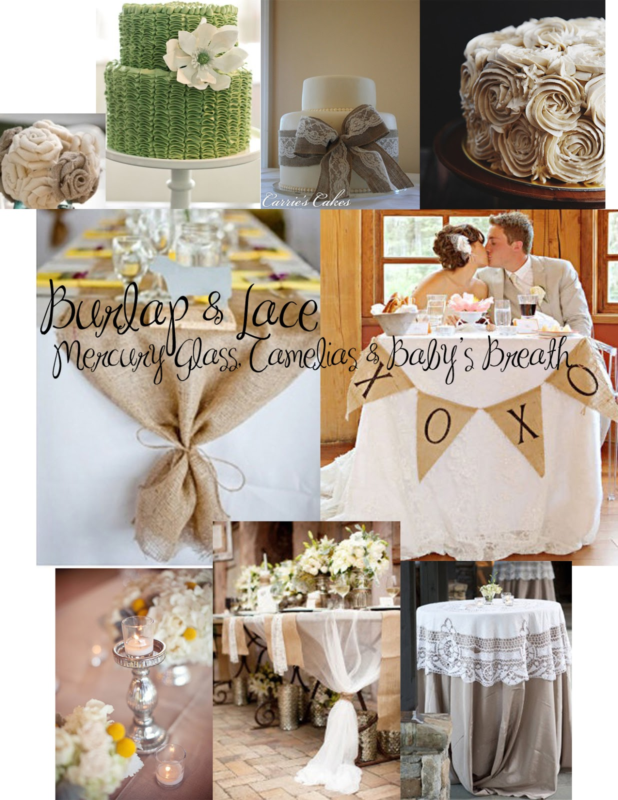 Andrea howard blog burlap and lace bridal shower - Wedding bridal shower ...