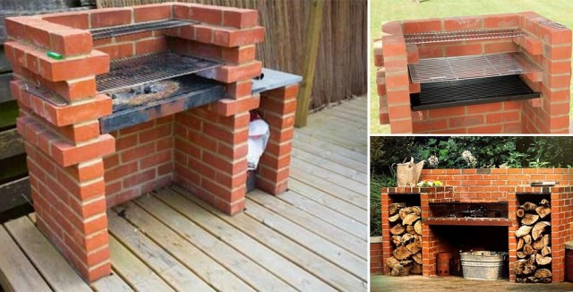 Superb How To Build A Brick Barbecue For Your Backyard