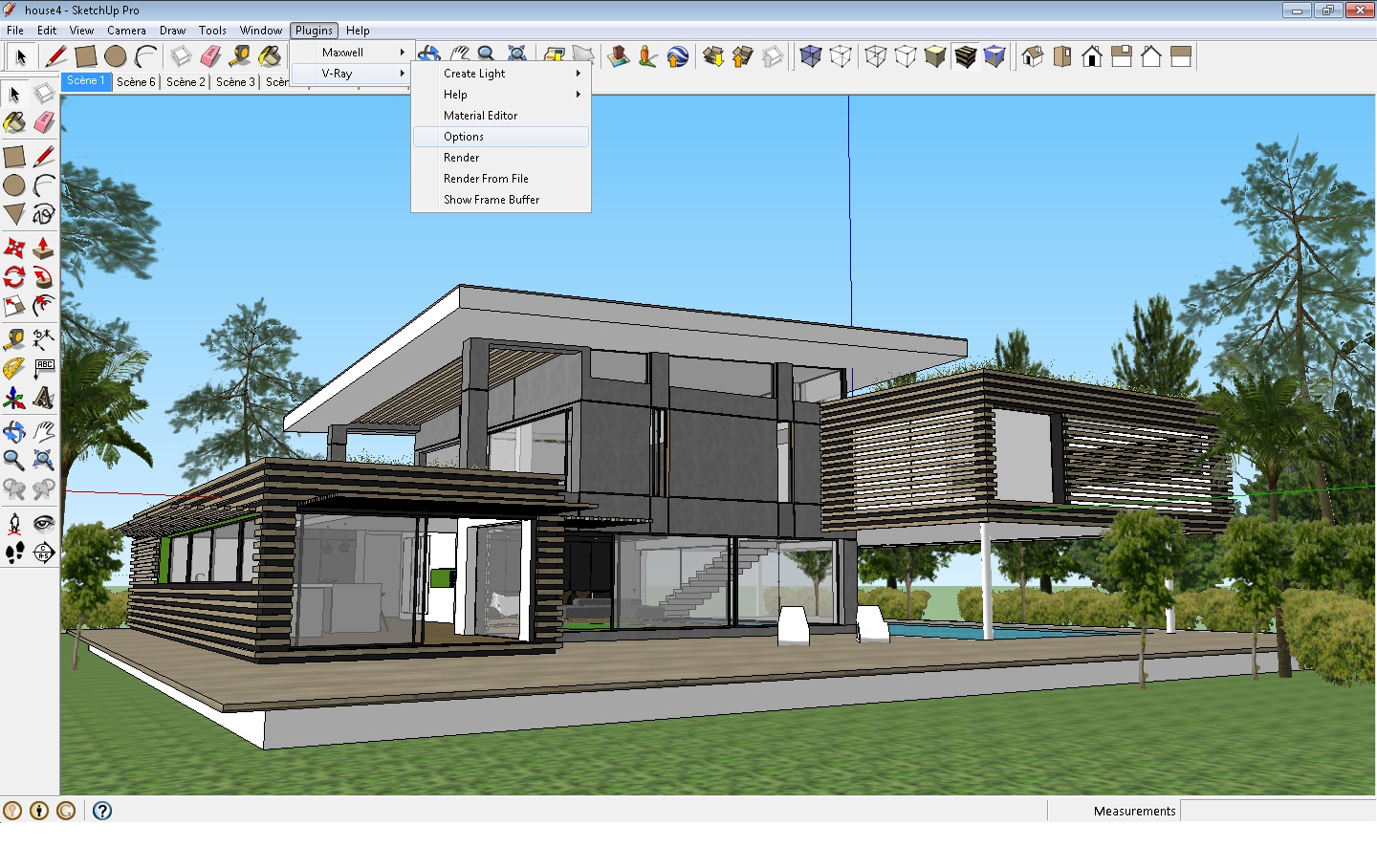Vray For Google Sketchup Setting Tutorial Archi Visualizer