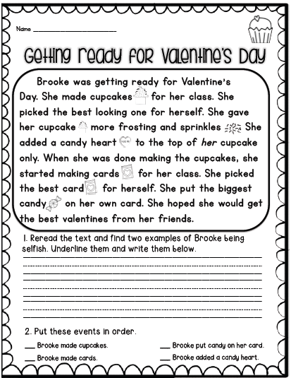 Sarah S First Grade Snippets Valentine S Day Activities