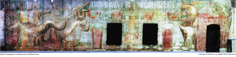 Retos digitales de ortizfeliciano resurge siqueiros for American tropical mural