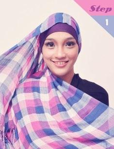 krsi+pm1 Cara Memakai Jilbab Pasmina Kreasi Sehari hari