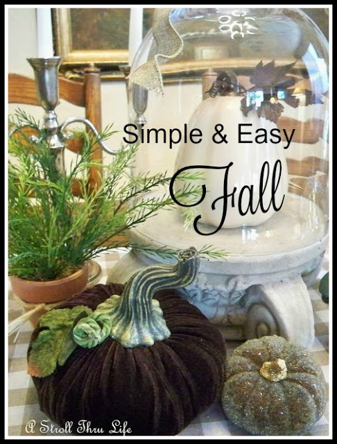 9 Simple & Easy Fall Vignettes