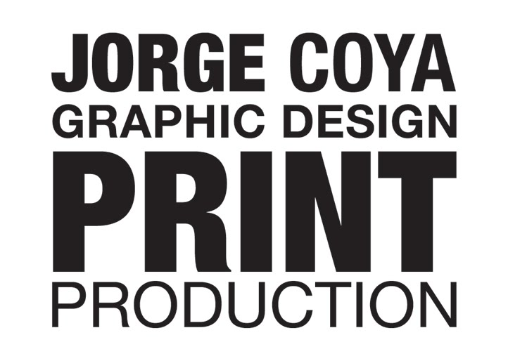 Jorge Coya Graphic Design & Print Production