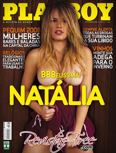 Natália Casassola - Revista Playboy - Julho 2008