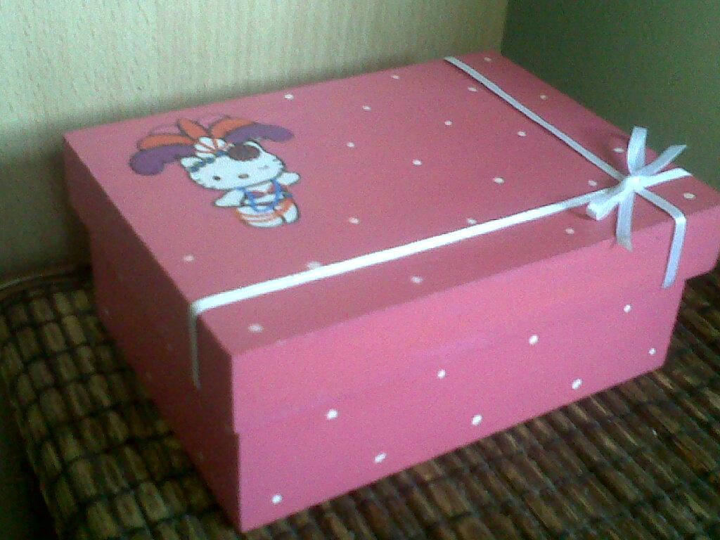 Mis cajitas y manualidades cajas decoradas for Cajas de carton infantiles