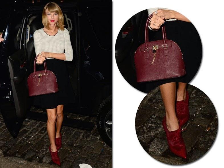 taylor swift, como combinar sapato com bolsa, como combinar bolsa com sapato, blog camila andrade, blog de moda de ribeirão preto, fashion blogger, inspiração, bolsa, sapato