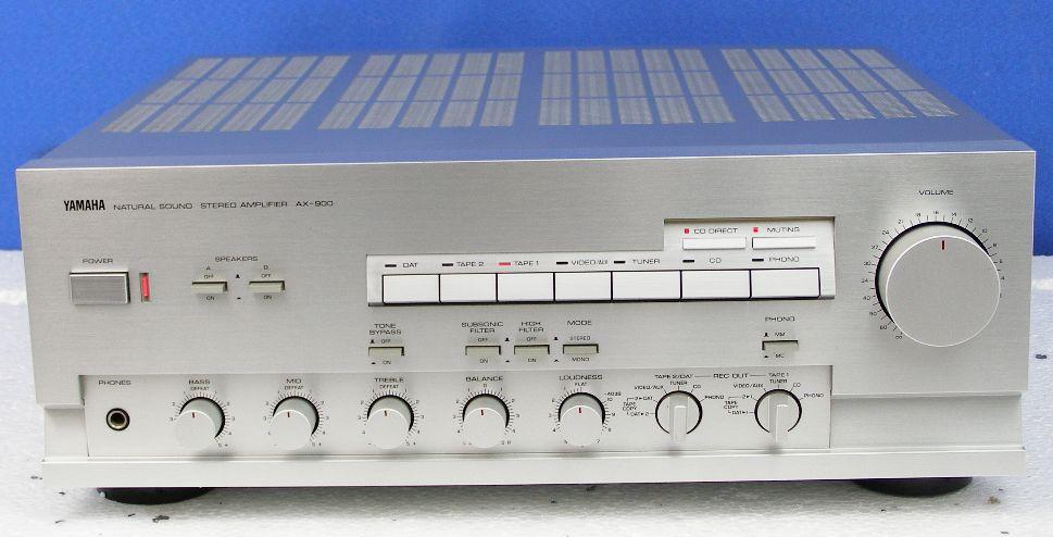 Yamaha Ax 900 Integrated Amplifier Audiobaza