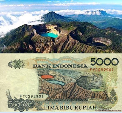 Lima Lokasi Wisata yang Ada di Mata Uang Rupiah