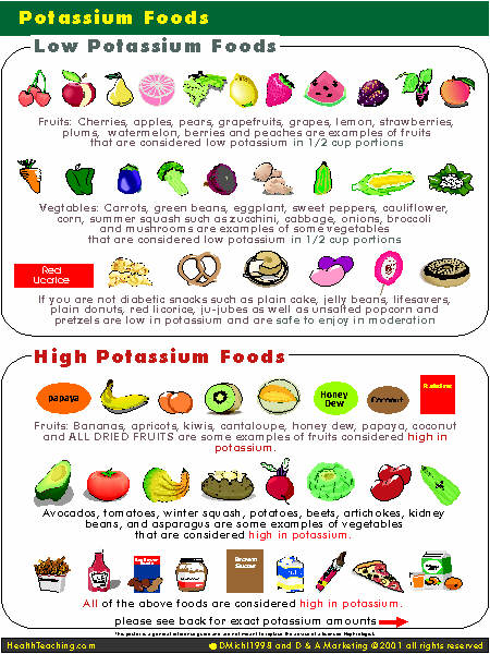 Low potassium diet recipes shaun manz images of low potassium diet recipes forumfinder Image collections