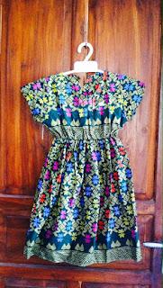 baju batik anak wanita motif prada