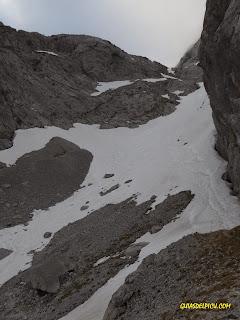 condiciones de nieve en picos  canal de la celada