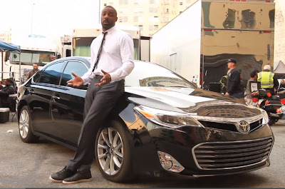 Idris Elba, 2013 Toyota Avalon, Only the Name Remains, Luxury Car