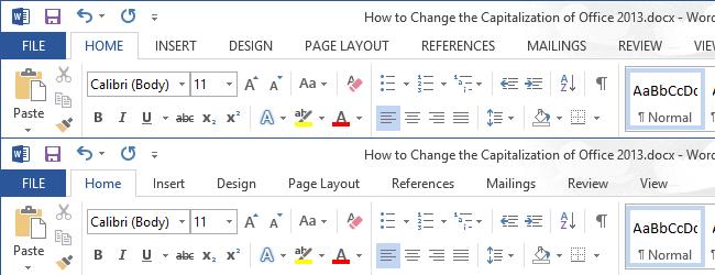 Как сделать прописные буквы в офисе