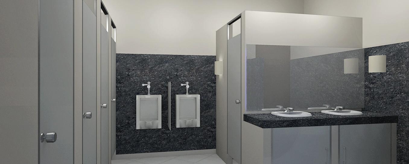 desain interior toilet pria desain interior toilet wanita pada sisi