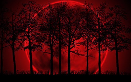 O que é lua de sangue