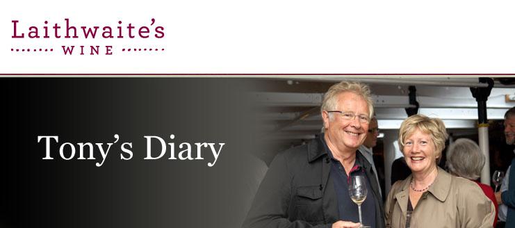 Tony's Diary