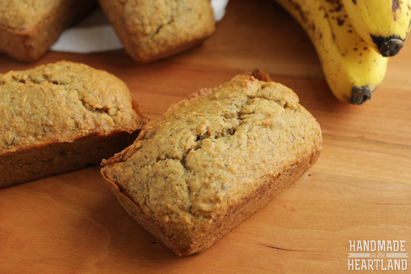 Whole Wheat Banana Bread Recipe