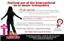 Marzo 8 NoPoesíaDanceFormance en apoyo del día Internacional de la mujer