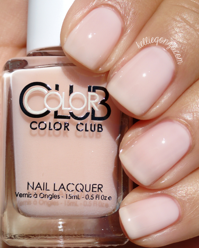 Color Club Blush Crush Shift Into Neutral Collection
