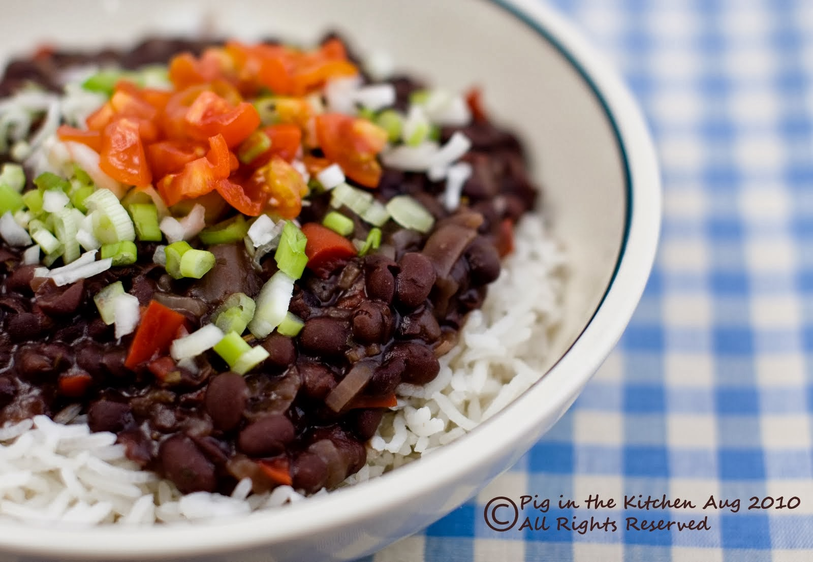 Black Bean Soup, gluten free