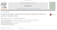Accelerating change: Fostering innovation in healthcare delivery at academic medical centers