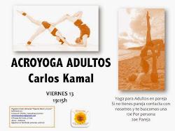 acro yoga adultos 13 junio en Armonia
