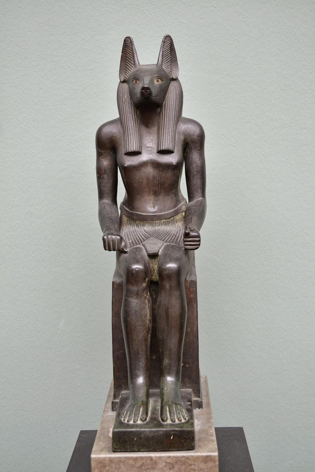 Egyptology sculpture at Ny Carlsberg Glyptotek